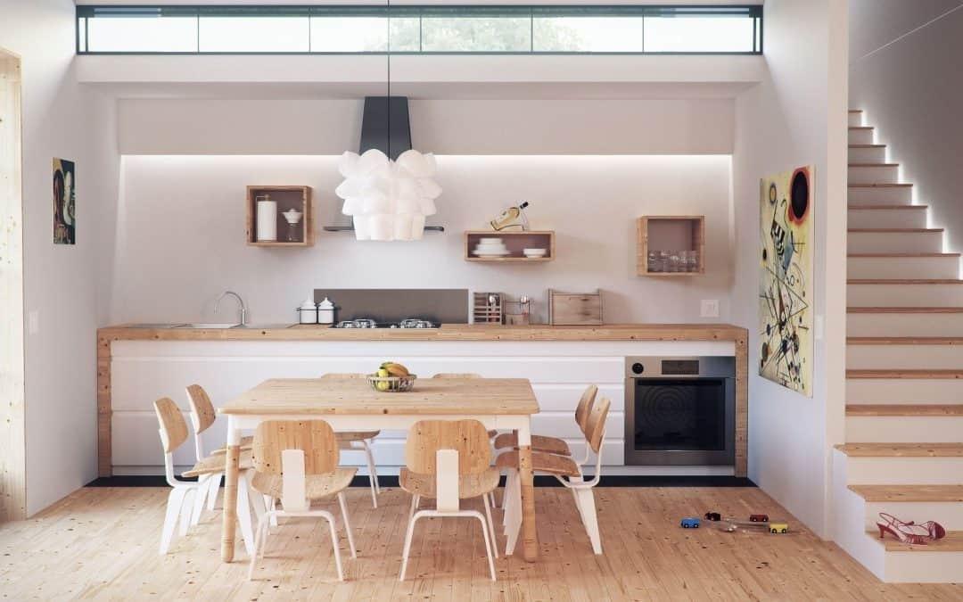 Una casa tecnologica ma sostenibile