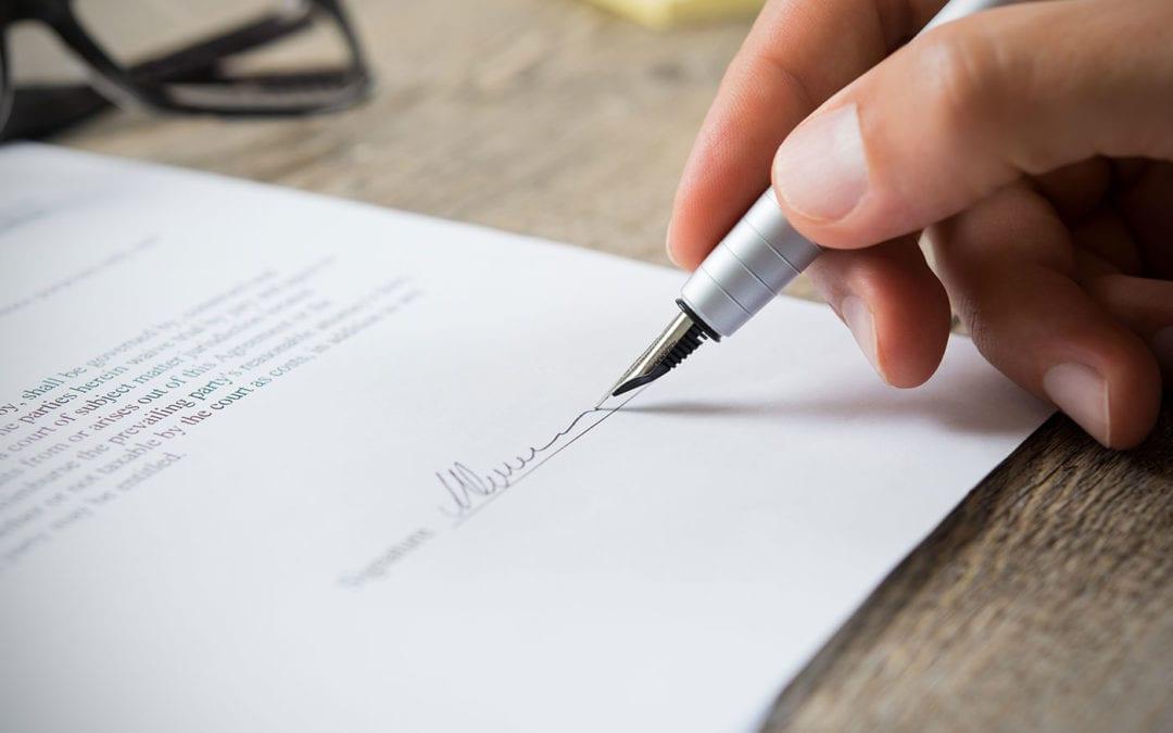 Disdetta di un contratto di locazione